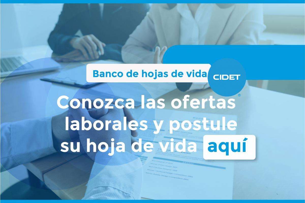 Trabaja con nosotros | CIDET - Centro de Investigación y Desarrollo ...